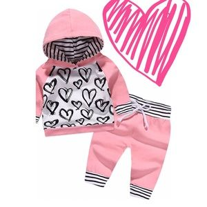 New Baby Girl jogger set